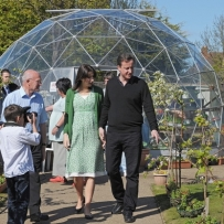 SOLARDOME Retreat,  Chepstow Community Garden, Blackpool