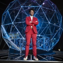 Custom made sphere for The Crystal Maze television series