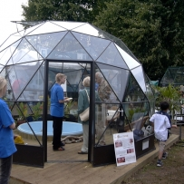 SOLARDOME Haven, Hampton Court 2004