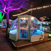Solardome® POD, Jimmy's Lodge, London
