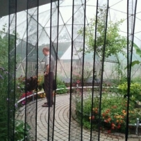SOLARDOME Sanctuary, Butterfly house Clissold Park, London