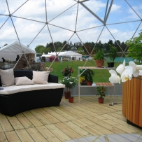 SOLARDOME Retreat, hot tub enclosure