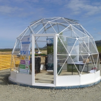 SOLARDOME Haven, Horshader Community Project, Isle of Lewis