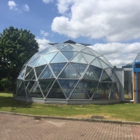 SOLARDOME PRO, 10m diameter double glazed dome