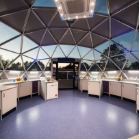 Inside the PRO science lab, Watford Grammar School for Girls