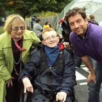 Nick Knowles, DIY SOS, The Yard, Edinburgh