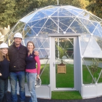 SOLARDOME Retreat, DIY SOS, The Yard, Edinburgh