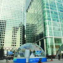 SOLARDOME Sanctuary, Canadian Tourist Office, Canary Wharf