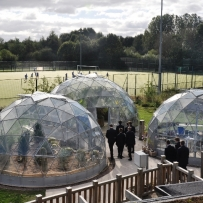 One SOLARDOME® Vega and two SOLARDOME® Capella at Wellacre Academy