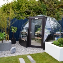SOLARDOME POD itv's Love Your Garden Series 5, Episode 3