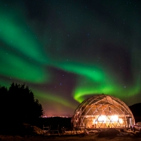 SOLARDOME PRO, Eco-Home, Norway, Northern lIghts