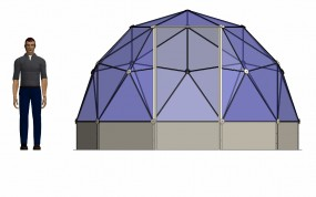 SOLARDOME® POD front elevation