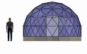 SOLARDOME Haven front elevation