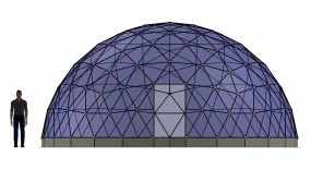 SOLARDOME® Sanctuary front elevation