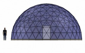 SOLARDOME Paradise front elevation