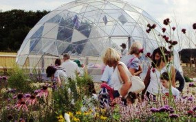 SOLARDOME® Sanctuary visitor facility at Butterfly World
