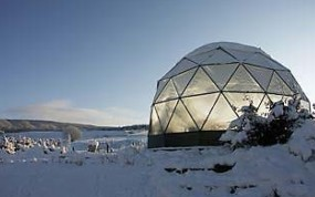 SOLARDOME Haven - geodesic greenhouse - Aberfeldy, Perthshire,