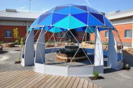 SOLARDOME Retreat - Enhancing the healing environment - Albany Prison Hospice, IOW