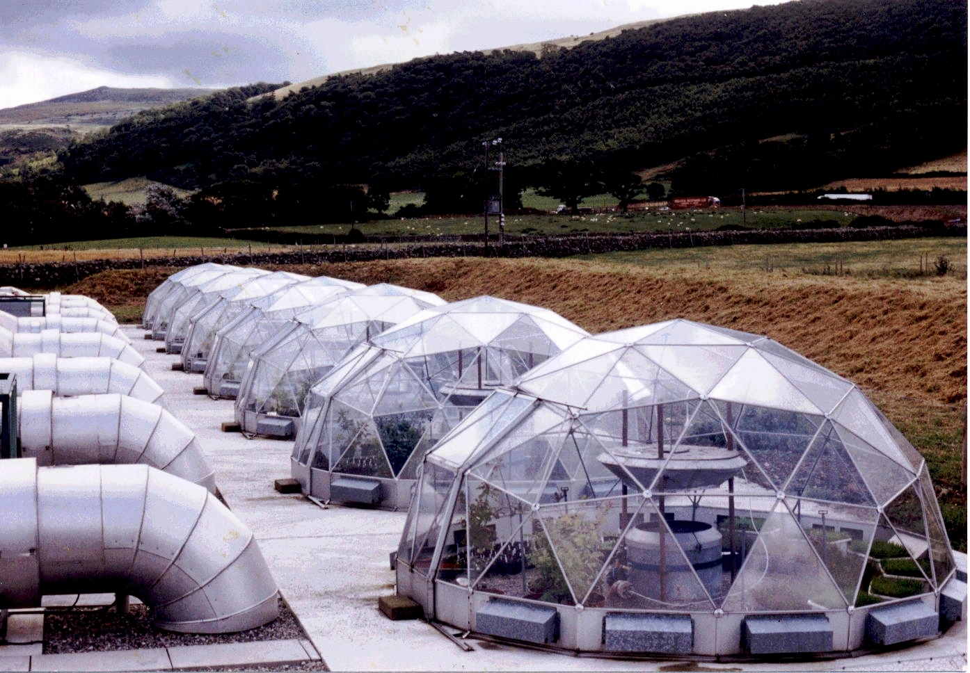 History of domes buckminster fuller solardome industries - The geodesic dome in connecticut call of earth ...