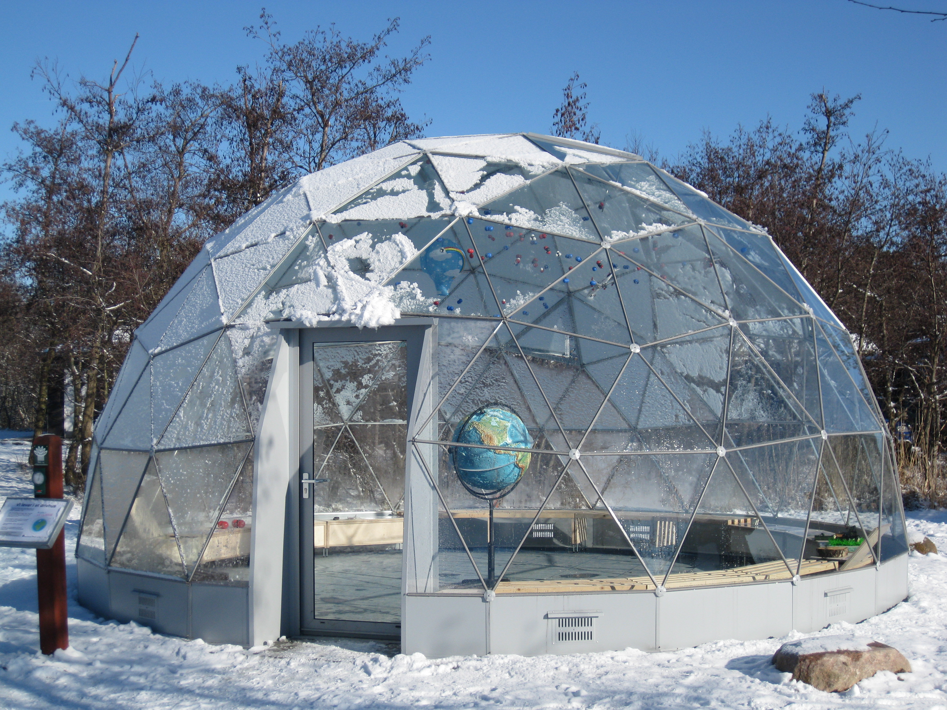 Case study danish forest and nature agency solardome - The geodesic dome in connecticut call of earth ...