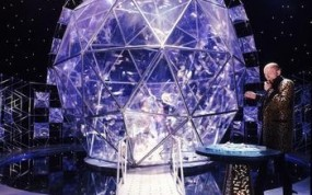 Crystal maze dome