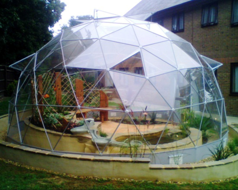 World health design enhancing the healing environment - The geodesic dome in connecticut call of earth ...