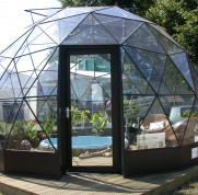 SOLARDOME Haven with sunken spa