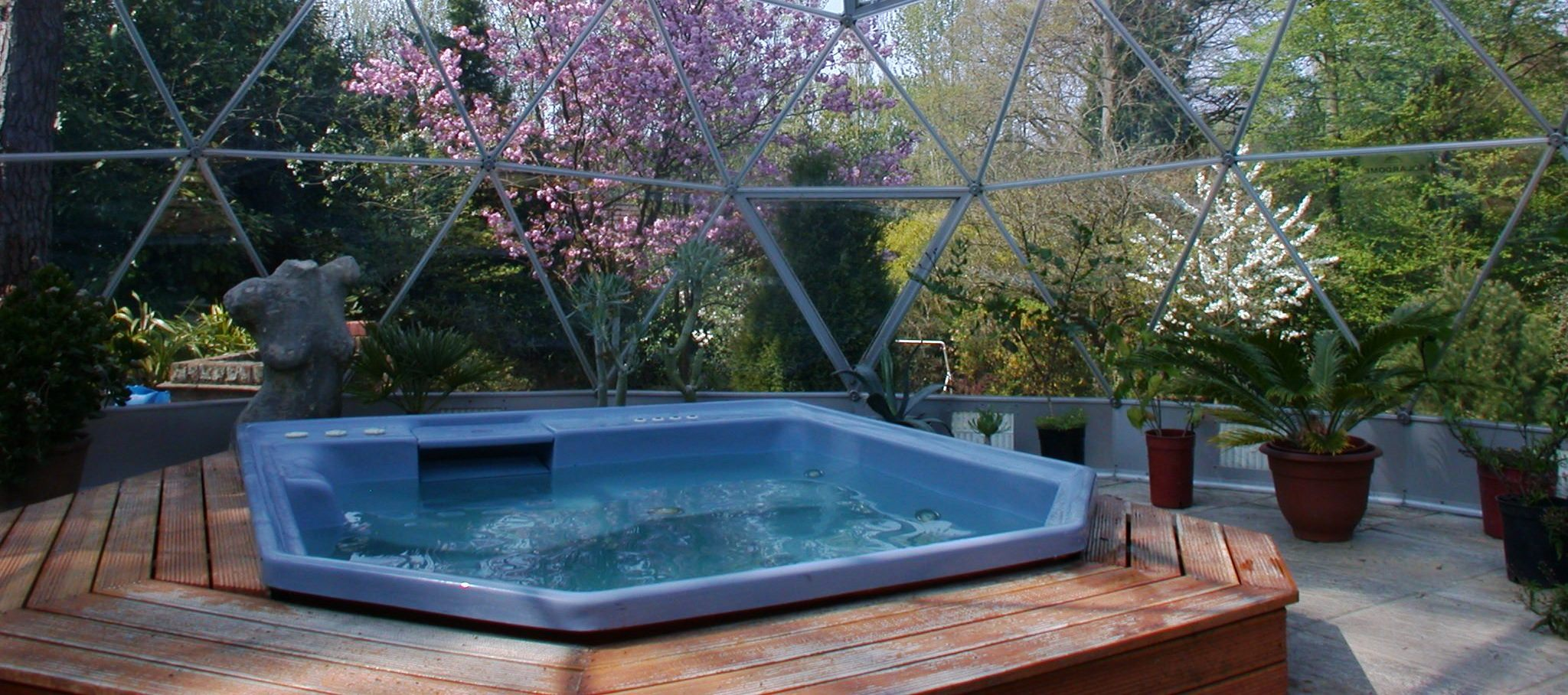 Glass Dome Enclosures For Spas Hot Tubs Pools