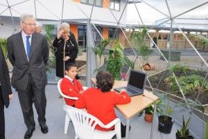 Acklam Grange outside classroom Case Study