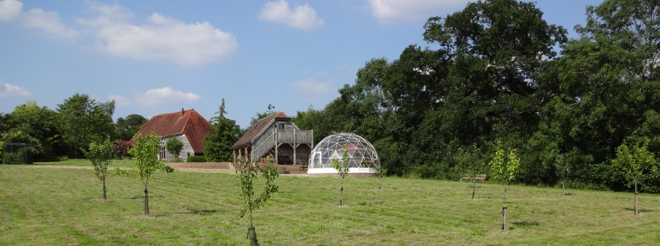 SOLARDOME Retreat outdoor room, West Sussex