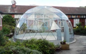 SOLARDOME Capella - additional school space - Kimberley Comprehensive School, Nottingham