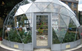 SOLARDOME Capella eco project at Petchey Academy