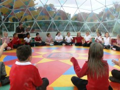 SOLARDOME Sanctuary environmental project at Felmore Primary School