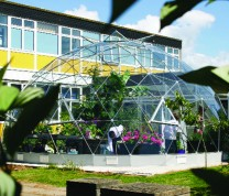 SOLARDOME Vega at Newquay Tretherras School