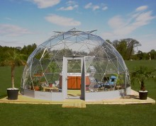 SOLARDOME Retreat with spa