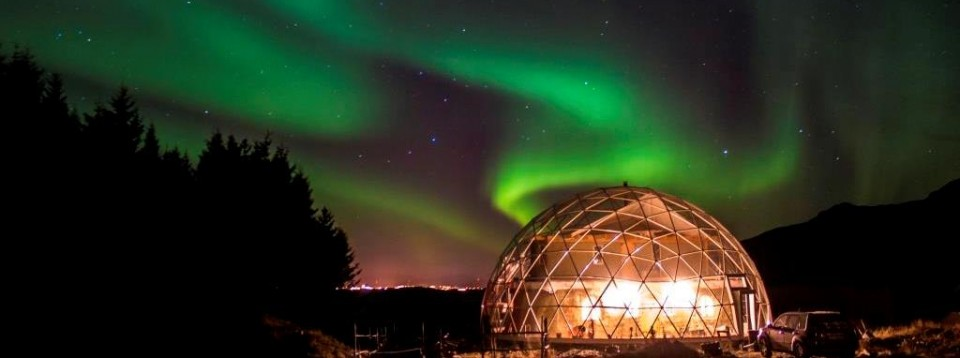 SOLARDOME PRO, Norway, Northern Lights