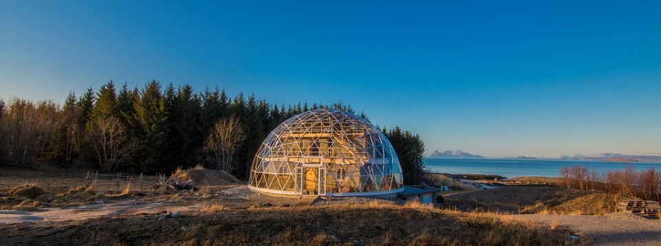 SOLARDOME PRO glass dome, Norway