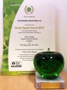 Green Champion 2014 Trophy