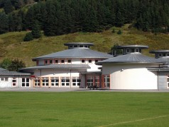 Pen Afan Primary School, with circular classrooms