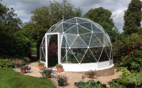 SOLARDOME Haven conservatory/greenhouse, Scotland