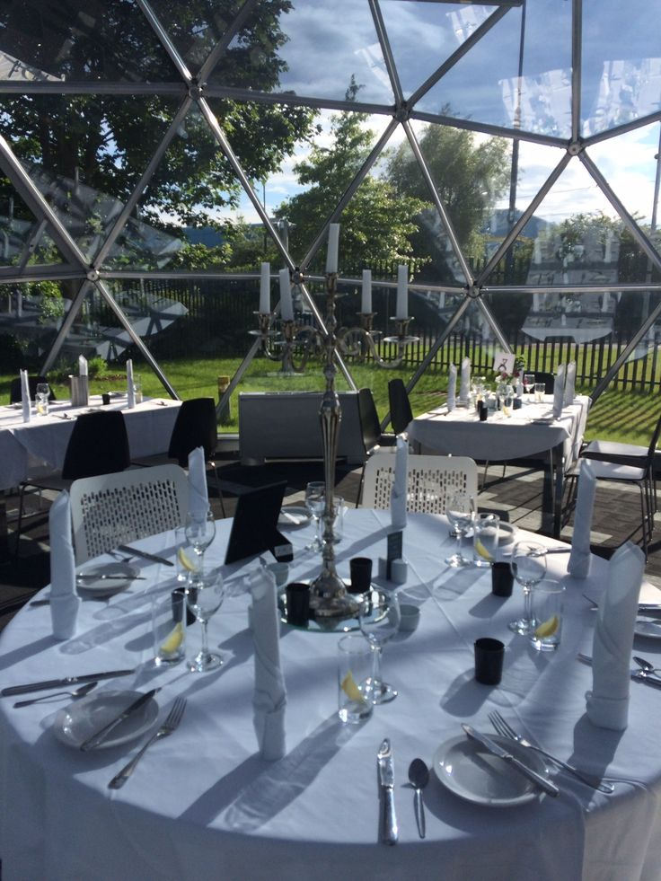 Dining in a PRO dome