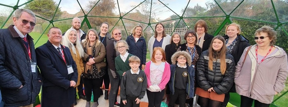 Solardome at Seal Primary Academy in Sussex