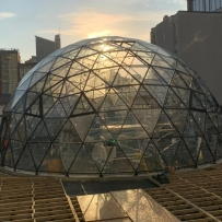 15m Solardome PRO for Allied London in Manchester