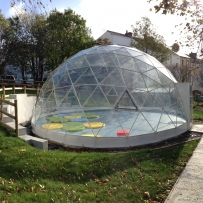 SOLARDOME Sanctuary, Weston Mill Primary School, Plymouth
