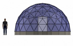 SOLARDOME® Retreat front elevation