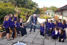 SOLARDOME Haven at the Dementia Sensory Garden at the Western Isles Hospital