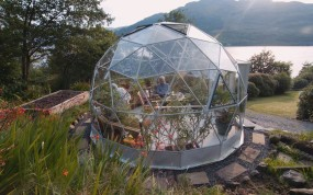SOLARDOME Haven freestanding glass conservatory