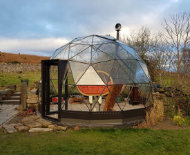 glasshouse in North Wales