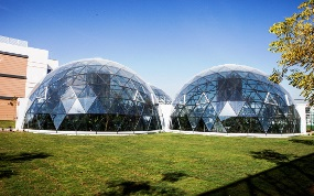Two domes linked