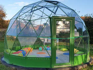 Haven dome at Seal Primary Academy in Sussex